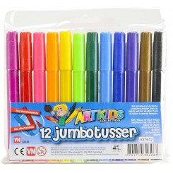 12 JUMBO TUSSER ARTKIDS 32628