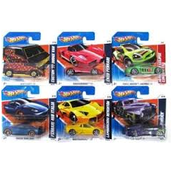HOT WHEELS BILER ASS 0460004