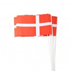 FLAG PÅ STANG 27*21 CM. 10...