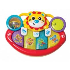 LION ACTIVITY KICK TOY PIANO 635508