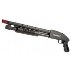 POLICE PUMP GUN MED LYD OG LYS