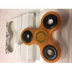 ORANGE GLIMMER FIDGET SPINNER
