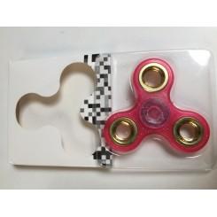 PINK GLOW FIDGET SPINNER