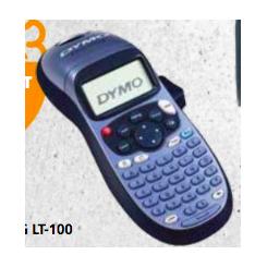 DYMO LETRATAG LT-100H 1 RL...