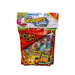 10 STK PACK THE GROSSERY GANG 55002