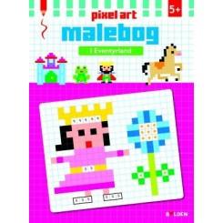 I EVENTYRLAND PIXEL ART MALEBOG