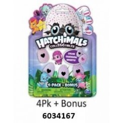 4 STK HATCHIMALS ÆG ASS