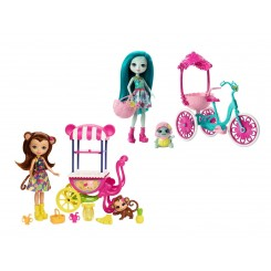 ENCHANTIMALS PLAYSET 2 SLAGS 96355