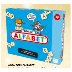 BØRNE ALFABET ALGA SPIL