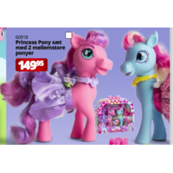 PONY PRINCESS 2 STK. M/...