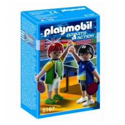 5197 BORDTENNISSPILLERE PLAYMOBIL