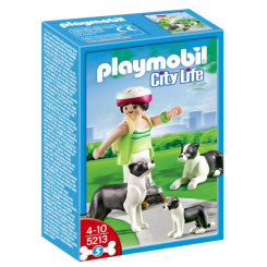 5213 BORDER COLLI FAMILIE PLAYMOBIL