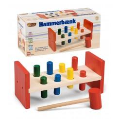 HAMMERBÆNK I TRÆ 55554