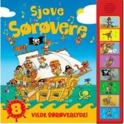 SJOVE SØRØVERE PAPBOG MED LYD