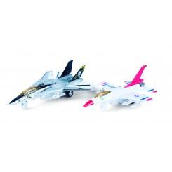 METAL JETFLY MED LYS/LYD 1:80 40729