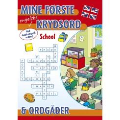 MINE FØRSTE KRYDSORD SCHOOL ENGELSK