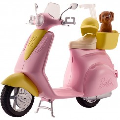 BARBIE SCOOTER LYSSERØD FRP56