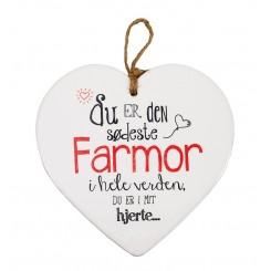 FARMOR HJERTE MED TEKST 70156