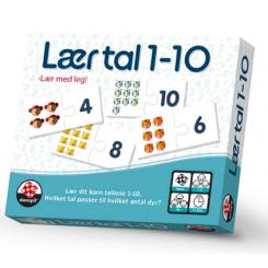 LÆR TAL 1-10 DANSPIL