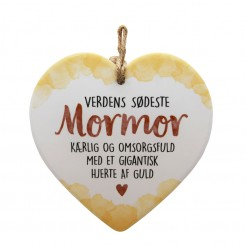 MORMOR HJERTE M TEKST 70155