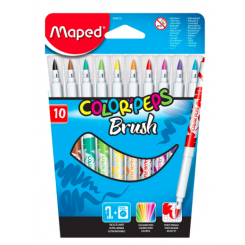 COLOR PEPS TUSSER BRUSH MAPED