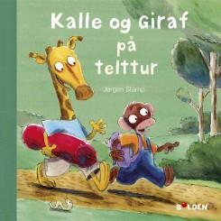 KALLE OG GIRAF PÅ TELTTUR BOG