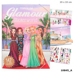 GLAMOUR STICKERWORLD TOPMODEL