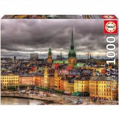 PUSLESPIL STOCKHOLM 1000 BRIKS