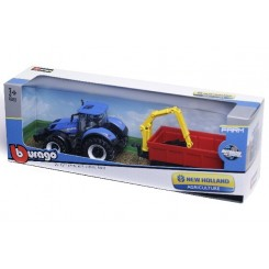 NEW HOLLAND TRAKTOR M. TRAILER