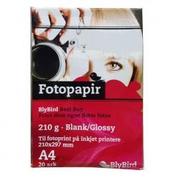 FOTOPAPIR - 20 STK. A4