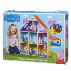GURLI GRIS WOODEN PLAYHOUSE