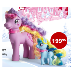 PONY PRINCES 1 STOR 1 LILLE...
