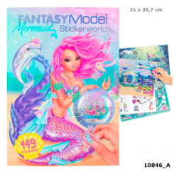 FANTASY STICKERWORLD  MERMAID