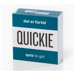 QUICKIE DET ER FORTID