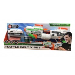RATTLE BELT X 50  CM GUN +...