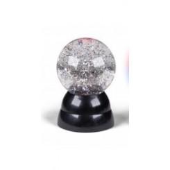 GLITTER BALL 9,5 CM TIL BATT