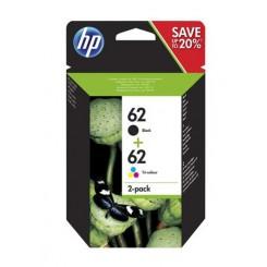 HP 62 SORT/FARVE SAMPAK...