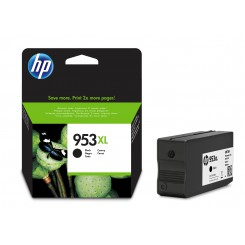 HP 953 XL SORT FARVE ORIGINAL