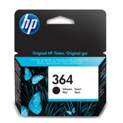 HP 364 SORT LILLE ORIGINAL