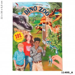 DINO WORLD ZOO AKTIVITETSBOG
