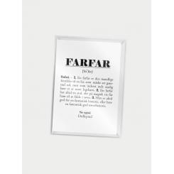 CITATPLAKAT - FARFAR A7