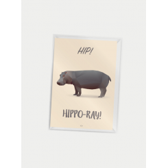 CITATPLAKAT - HIPPO-RAY! A7