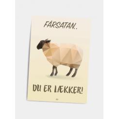 CITATPLAKAT - DU ER LÆKKER! A5