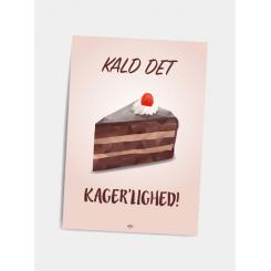 CITATPLAKAT - KAGER'LIGHED A5