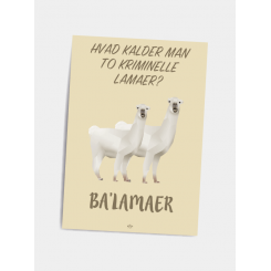 CITATPLAKAT - BA'LAMER A5
