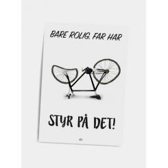 CITATPLAKAT - STYR PÅ DET A5