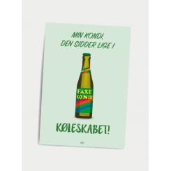 CITATPLAKAT - KØLESKABET A5