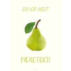 CITATPLAKAT - PÆREFEKT A5