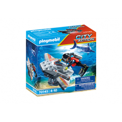 70145 PLAYMOBIL DYKKERSCOOTER