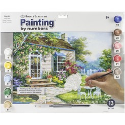 PAINT BY NUMBERS HUS M. HAVE
